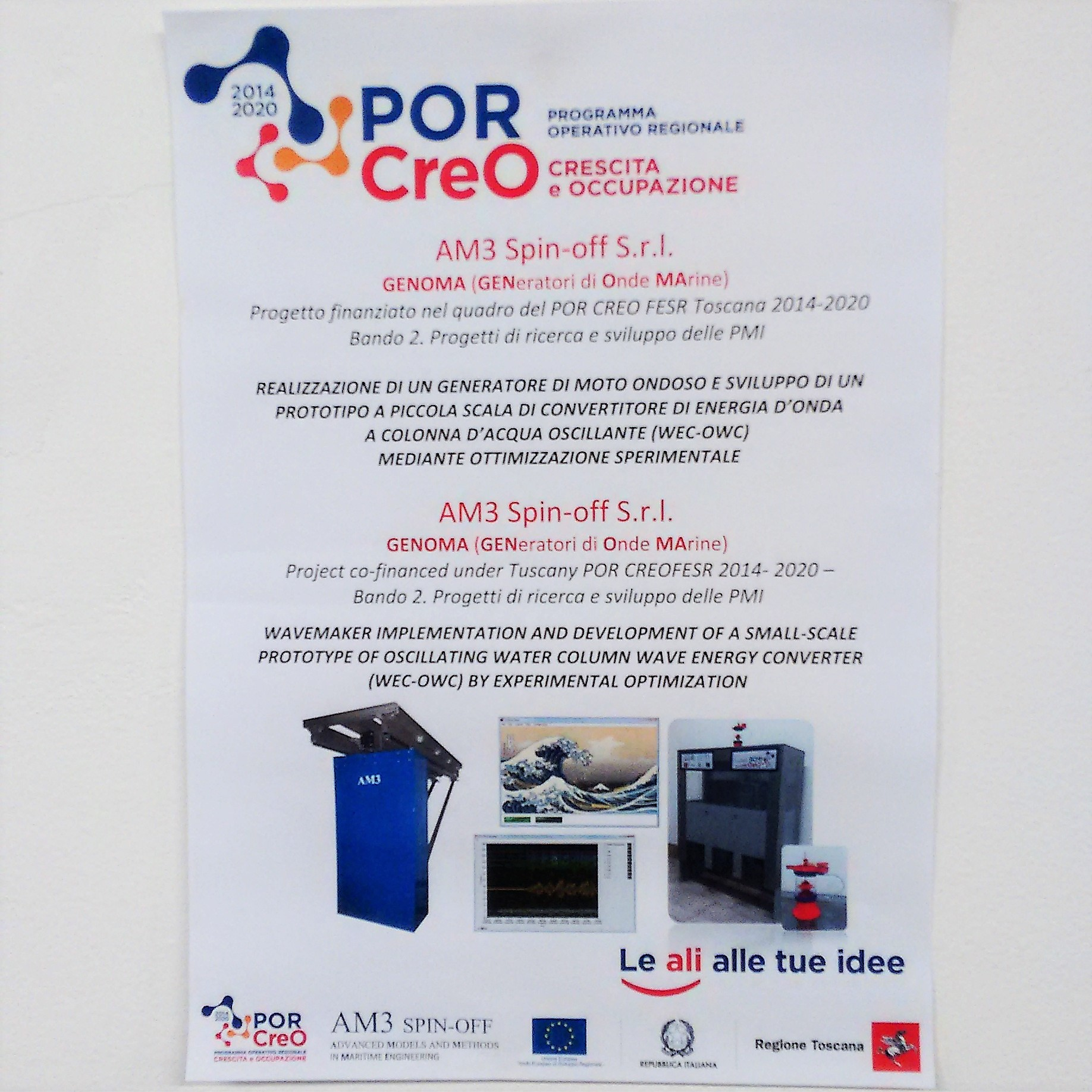 My Front Page En Am3 Spin Off Wavemaker Circuit Design Software Progetti Di Ricerca E Sviluppo Delle Pmi Implementation And Development Of A Small Scale Prototype Oscillating Water Column Wave Energy